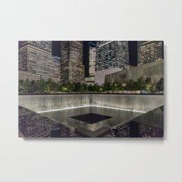 9-11 Memorial New York City Metal Print