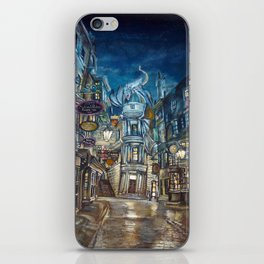 Breach to Diagon Alley iPhone Skin