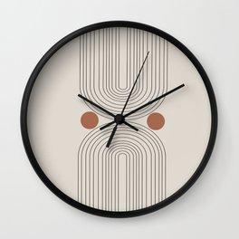 Modern Minimalistic Art Wall Clock