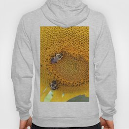 Sunflower with Bees Hoody
