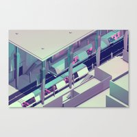 subway Canvas Prints featuring Subway by Timothy J. Reynolds