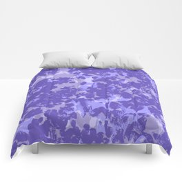 Lavender and Sage Comforters