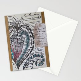 """""""He Heals the Broken Hearted"""" Stationery Cards"""