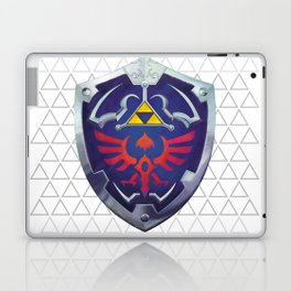 Link - Hyrule Shield - zelda Laptop & iPad Skin