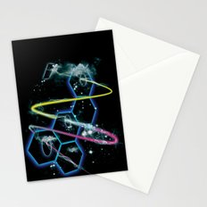space fragmentation travel fig 4 Stationery Cards