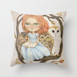 Autumn Tales Throw Pillow