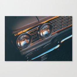 car yellow 6 Canvas Print