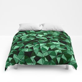 Emerald Lo Poly Comforters