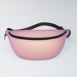 Round Sunset Fanny Pack