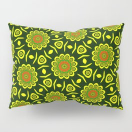 Cute ethnic floral pattern Pillow Sham