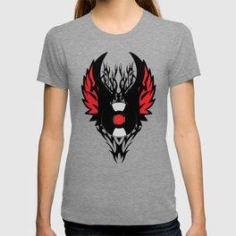 Retro PUNK ROCK Vinyl Record Art - Tribal Spikes and Wings - Cool Music DJ T-Shirt Prints Cases T-shirt