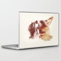 country Laptop & iPad Skins featuring Blind fox by Robert Farkas