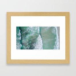 turquoise waters #society6 #decor #buyart Framed Art Print