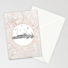 Roma (Rome), Italy City Skyline Stationery Cards