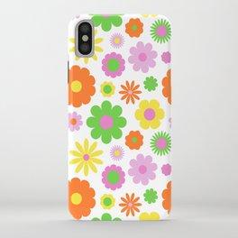 Vintage Daisy Crazy Floral iPhone Case