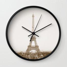 PARIS / Eiffel Tower Wall Clock