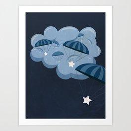 Chuting Stars Art Print