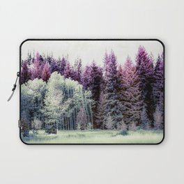 Tiny Cabin Among The Large Forest, Montana Laptop Sleeve