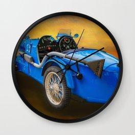 MG Sports Car Wall Clock