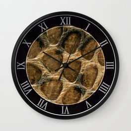 The skin of the serpent Wall Clock