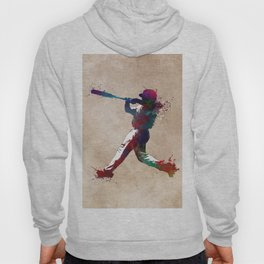 Baseball player 10 #baseball #sport Hoody