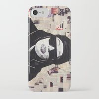 aaliyah iPhone & iPod Cases featuring Chopped and Glued - Aaliyah by ByReenaRae