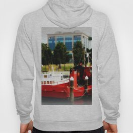 Little red tug Boat Hoody