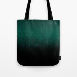 Emerald Ombré Tote Bag
