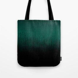 Emerald Ombré Tote Bag