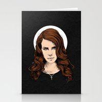 lana Stationery Cards featuring LANA. by paintparamore