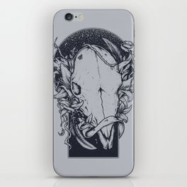 Mind the night iPhone Skin