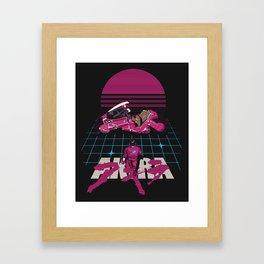 Neo-Tokyo Akira Synthwave tribute Framed Art Print