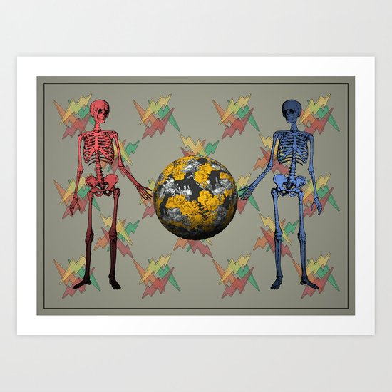 Duplicitous Art Print