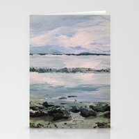 maine Stationery Cards featuring Maine by Samantha Crepeau