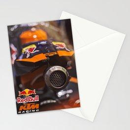 KTM Racing motorbike Stationery Cards