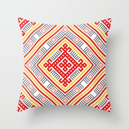 Lada - Bereginya - Rozhanitsa - Slavic Pagan Symbol #1 Throw Pillow