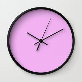 #F2B2F2 Wall Clock