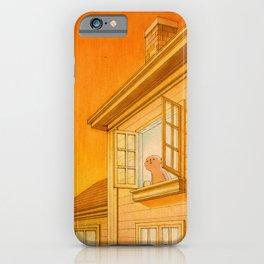 Wildfire Orange iPhone Case