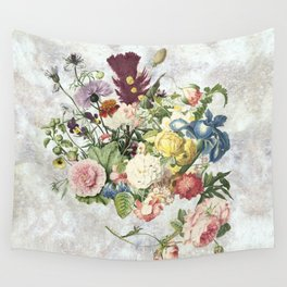 A Flowering Flourish, spring, burgeon, burst! Wall Tapestry