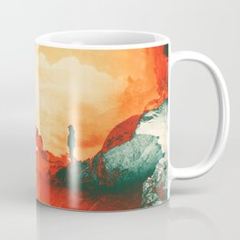Occupy Mars a Red Sci fy Landscape Coffee Mug