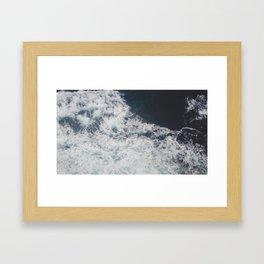 Where my feet may fail Framed Art Print