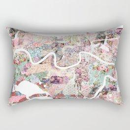 New Orleans map landscape Rectangular Pillow