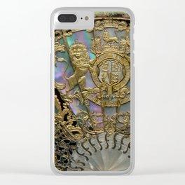 honi soit qui mal y pense Clear iPhone Case