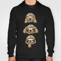 No Evil Sloth Hoody