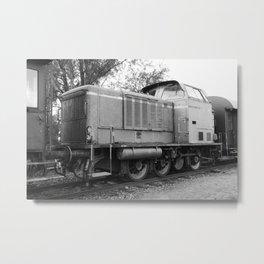 Age Electric Locomotive Metal Print
