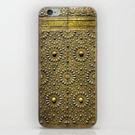 Gold Kaaba Door iPhone Skin