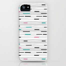 Simple paths iPhone Case