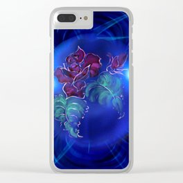Abstract in perfection - Fertile Imagination Rose 2 Clear iPhone Case
