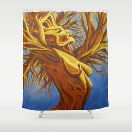 arbor enamored Shower Curtain