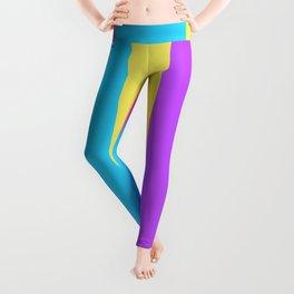 Colour palette cool modern design Leggings